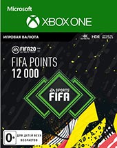 XBOX ONE  FIFA 20 Ultimate Teams 12000 POINTS для XBOX ONE  Цифровая версия