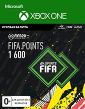 XBOX ONE  FIFA 20 Ultimate Teams 1600 POINTS для XBOX ONE   Цифровая версия