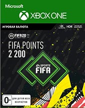 XBOX ONE  FIFA 20 Ultimate Teams 2200 POINTS для XBOX ONE   Цифровая версия
