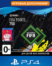 PS4 FIFA 20 Ultimate Teams 750 POINTS для PS4  Цифровая версия