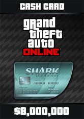 Grand Theft Auto Online Megalodon Shark Cash Card - 8.000.000$