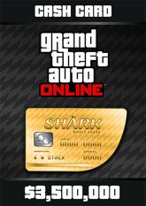 Grand Theft Auto Online Whale Shark Cash Card - 3.500.000$  (������ Easypay, Webmoney, Visa, Mastercard, ������� � �������� MTC, Life:) � � ����� �����)