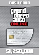 Grand Theft Auto Online Great White Shark Cash Card - 1.250.000$