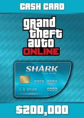 Grand Theft Auto Online Tiger Shark Cash Card - 200.000$