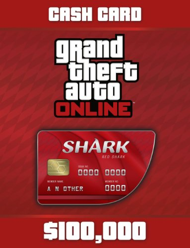 Grand Theft Auto Online  Red Shark Cash Card  - 100.000$
